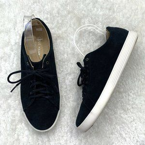 Cole Haan Grand Zeros Black Lace Up Sneakers